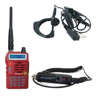 Spender วิทยุสื่อสาร รุ่น PILOT 245H 5 วัตต์+ ที่ชาร์จไฟในรถ + ไมค์หูฟัง