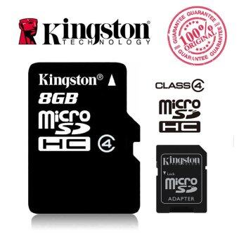 Kingston Micro SD Card 8GB with Adapter (Class 4)
