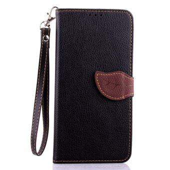 Harga PU Leather Flip Cover for Motorola Nexus 6 (Black)