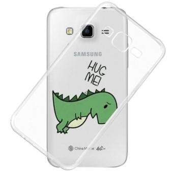 AFTERSHOCK TPU Case Samsung Galaxy J7 2015 (เคสใสพิมพ์ลาย Hug Me) / Thin 0.33 mm