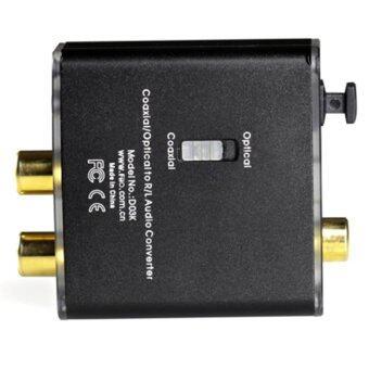 FiiO D03K ตัวแปลงสัญญาณ - Optical / Coaxial เป็น RCA และ 3.5mm