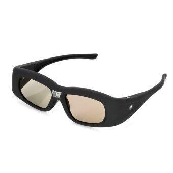 Gonbes G05-DLP 3D ชัตเตอร์ใช้งานเทคโนโลยีการเชื่อมแว่นตาสำหรับโปรเจคเตอร์-สีดำ