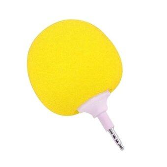 DT ลำโพงบอลจิ๋ว audio cool สำหรับโทรศัพท์มือถือ (สีเหลือง)