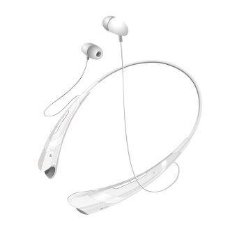 ไร้สายบลูทูธผ้าพันคอ HBS-760 4, 0CSR ชุดหูฟังสำหรับ iPhone Samsung LG (ขาว)
