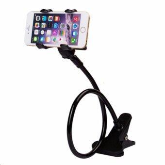 Phone Holder ขาจับมือถือ ที่หนีบสมาร์โฟน แท่นวางไอโฟน แบบหนีบ ดำ
