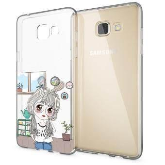 HugCase TPU เคส Samsung Galaxy A7 2016เคสโทรศัพท์พิมพ์ลาย Beautiful เนื้อบาง 0.3 mm
