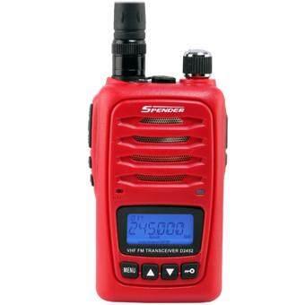 SPENDER วิทยุสื่อสาร เครื่องรับส่งวิทยุ D2452 - สีแดง