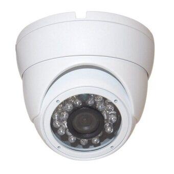 Mastersat กล้องหลอก ติดได้ทั้งข้างใน และนอกบ้าน Indoor Outdoor Flashing LED Red Light Dummy Fake CCTV Dome Camera