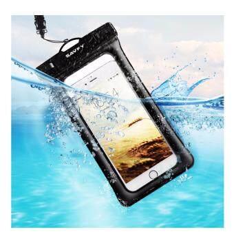 SAVFY 6013 ซองกันน้ำ สำหรับ Apple iPhone 6S 6,6S Plus, SE 5S 7, Samsung Galaxy S7, S6 Note 5 4, HTC LG Sony Nokia Motorola (ขนาดแนวทแยง 6 นิ้ว)