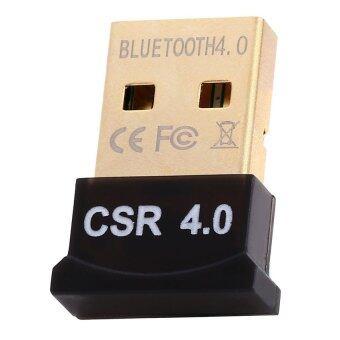 ยูเอสบีไร้สายบลูทูธ 4.0 csr ของ xp ได้ส่งสัญญาณภาพเสียงอะแดปเตอร์ดองเกิล win7/8 (สีดำ)