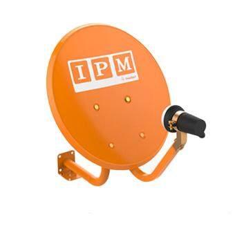 IPM Ku-Band ชุดจานดาวเทียมไอพีเอ็ม 35 cm.ยึดผนัง + LNB (อุปกรณ์ครบชุด)