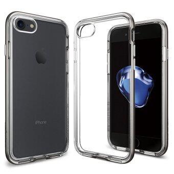 SPIGEN เคส Apple iPhone 7 Case Neo Hybrid Crystal : Gunmetal
