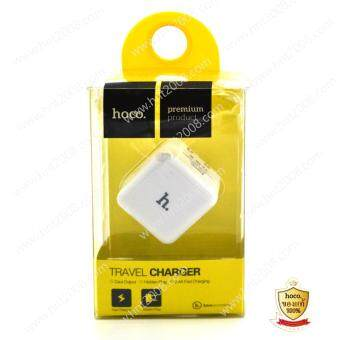 ็HOCO ที่ชารืจมือถือ แบบ 2ช่อง รุ่น UH201 smart charger