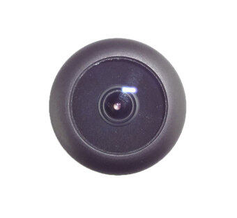 DSC เทคโนโลยี 0.85ซม 1.8มม 170องศามุมกว้างสีดำเลนส์กล้องวงจรปิดสำหรับกล้องกล่องสำเนาถึงความ