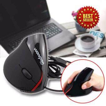 Elit เมาส์แนวตั้งแก้อาการปวดข้อมือ Vertical mouse Ergonomic Mouse