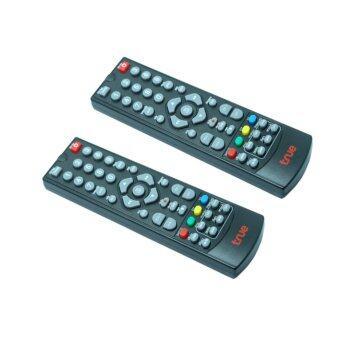 True Remote True (ใช้กับกล่องทรูดิจิตอล) แพ็ค 2(Black)