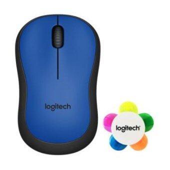Logitech M221 Silent Wireless สีน้ำเงิน