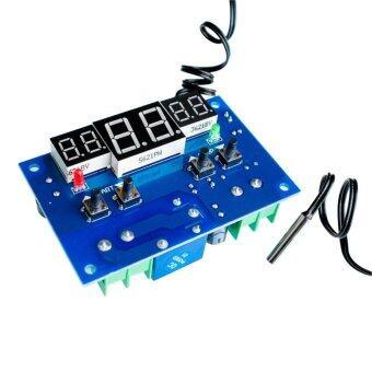 บอร์ดควบคุมอุณหภูมิ W1401 DC12V Temperature Controller Regulator with NTC Sensor W1401 (สีน้ำเงิน) 1 ชิ้น