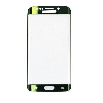 ครอบแก้วเต็มจอกันรอยหน้าจอยากอารมณ์สำหรับ Samsung Galaxy S6 Edge กับแพคเกจกล่องเก็บ (สีเขียว)