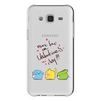 AFTERSHOCK TPU เคส Samsung Galaxy J5 2015 เคสโทรศัพท์พิมพ์ลาย Valentine's 7 เนื้อบาง 0.33 mm