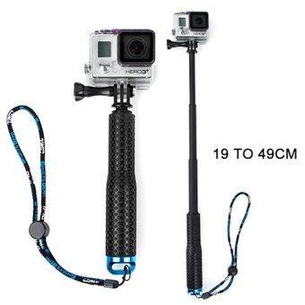 ไม้เซลฟี่ TMC Monopod ยืด19-49cm (สีน้ำเงิน) สำหรับกล้อง Gopro / Xiaomi Yi / SJCAM