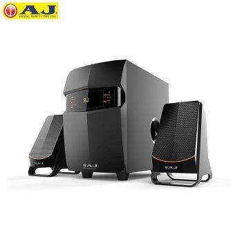 AJ ชุดลำโพงมัลติมีเดีย 2.1 เชื่อมต่อด้วยบลูทูธ (Black) รุ่น AJ-921FM