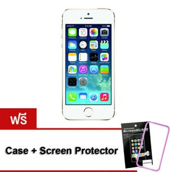 REFURBISHED Apple iPhone5S 32 GB Gold (Free Case+ScreenProtector)