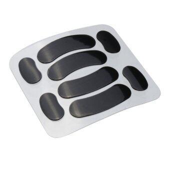 0.6mm PTFE Black Tiger Gaming Mice Mouse Feet for SteelSeries Rival 2015 Edition ราคาถูกที่สุด ส่งฟรีทั่วประเทศ