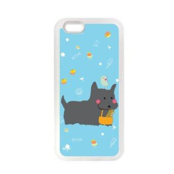 Kouple เคส สำหรับ iPhone6 scottish terrier - Blue/Dark gray