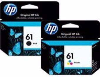 HP หมึกพิมพ์ Inkjet รุ่น 61co Black/Color