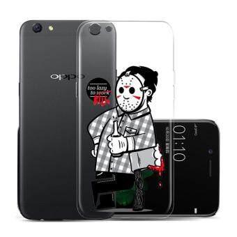 Hug Case TPU เคส Oppo R9s เคสโทรศัพท์พิมพ์ลาย Kill เนื้อบาง 0.3 mm
