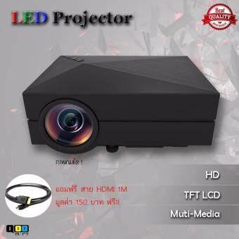 โปรเจคเตอร์ LED Projector G60 สีดำ