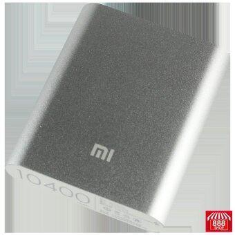 Xiaomi แบตสำรองสำหรับพกพา ขนาด 10400 mAh (สีเงิน) (image 1)