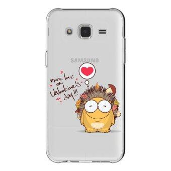 AFTERSHOCK TPU เคส Samsung Galaxy J7 2015 เคสโทรศัพท์พิมพ์ลาย Valentine's 4 เนื้อบาง 0.33 mm