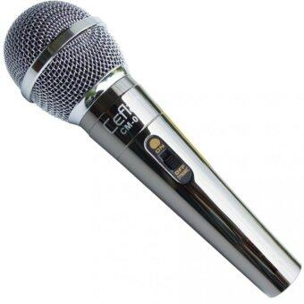 Ceflar ไมโครโฟน สำหรับร้องคาราโอเกะ เคสโลหะสี Titanium รุ่น CM-001