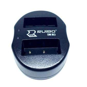 DUAL CHARGER แท่นชาร์จแบตกล้องแบบคู่ ชาร์จทีละ2ก้อน USB Dual Battery Charger for Fujifilm Rechargeable Li-ion Batteries NP-W126
