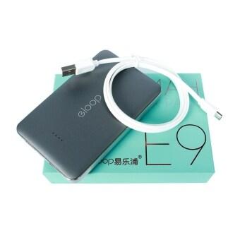 ELOOP Power bank พาวเวอร์แบงค์ แบตสำรอง รุ่น E9 (สีดำ)