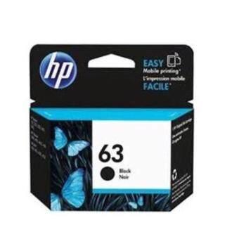HP หมึกพิมพ์ Inkjet รุ่น hp 63bk Black