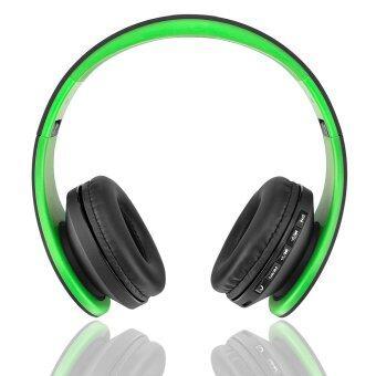 Andoer LH-811 ดิจิตอลไร้สายบลูทูธหูฟัง (สีเขียว)
