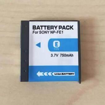 แบตกล้อง รุ่นแบต NP-FE1, NPFE1, FE1 แบตโซนี่ Sony DSC-T7 , Cyber-shot DSC-T7 , Cyber-shot DSC-T7/B , Cyber-shot DSC-T7/S Sony DSC-T7, DSCT7 Sony DSC-T7/B, DSCT7B Sony DSC-T7/S, DSCT7S Replacement Battery for Sony