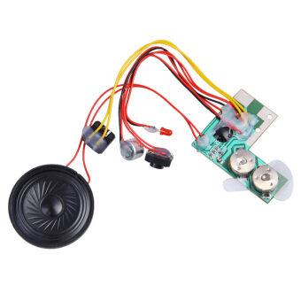 เครื่องเสียงดีวีดีออดิโอซาวด์โมดูลเบี้ย 10วินาที 10s สำหรับบัตรใหม่ (สีดำ) - Intl
