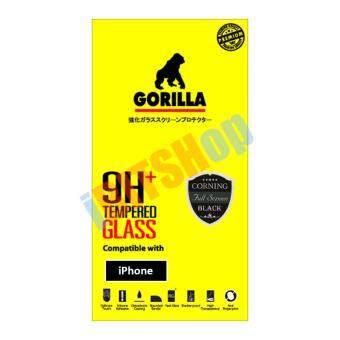 Gorilla กระจกนิรภัย แบบเต็มจอ iPhone 7 (สีดำ)