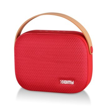 AIBIMY MY-550BT Bluetooth Speaker ลำโพงบลูทูธ ดีไซน์ล้ำทันสมัย (สีแดง)