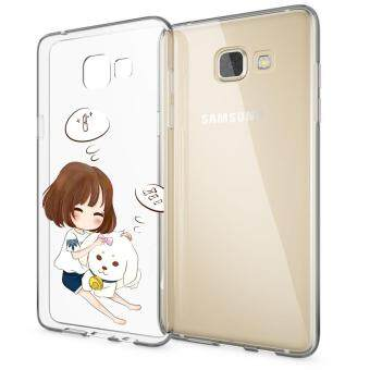 HugCase TPU เคส Samsung Galaxy A9เคสโทรศัพท์พิมพ์ลาย My Dog เนื้อบาง 0.3 mm