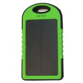 เช็คราคา Power Bank Solar Cell 30000 mAh รุ่นกันน้ำ - Green นำเสนอ