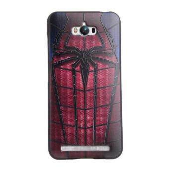 Harga For Asus Zenfone Max ZC550KL TPU 3D Painting Cover Case(Spider-Man) - intl
