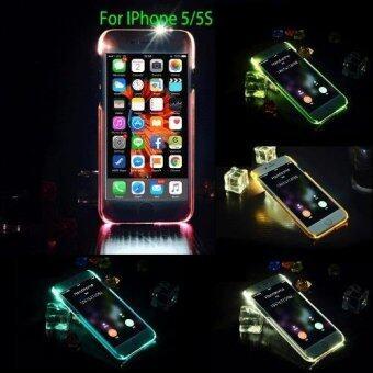 DT เคส IPhone 5/5S ไฟกระพริบ (สีส้ม)
