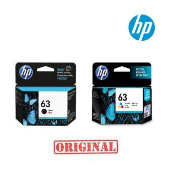 HP F6U62AA NO.63 (BLACK) + F6U61AA NO.63 (COLOR) 2 ชิ้น ของแท้