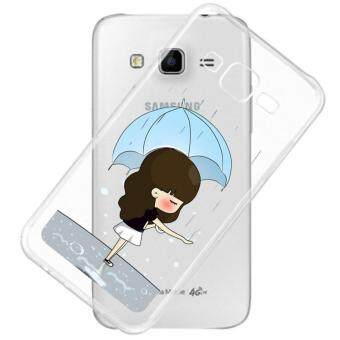 AFTERSHOCK TPU Case Samsung Galaxy J7 2015 (เคสใสพิมพ์ลาย Rain Rain) / Thin 0.33 mm