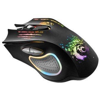 สินค้ายอดนิยม Tsunami Breathing Light 6D Optical Gaming Mouse (GM-03) เปรียบเทียบราคา